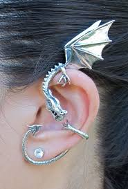 ear wraps and cuffs wyvern earrings ear cuff