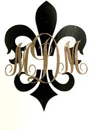 mardi gras gifts fleur de lis mardi gras monogram glitter initial monogram