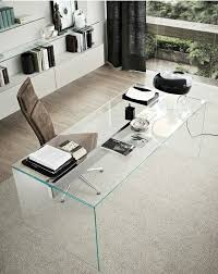 Glas Desk 25 Transparent Glass Items To Make Your Space Dreamy Digsdigs
