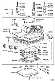 toyota rav4 j l zca25w azpnk 35410 body assy transmission valve