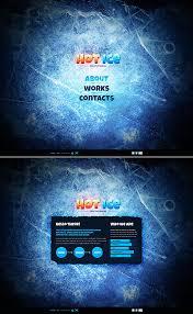 website template 39228 ice design custom website template