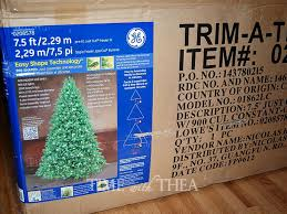 how to store an artificial tree time with thea