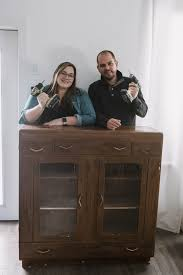 how to diy cabinet diy furniture a thrifted cabinet makeover