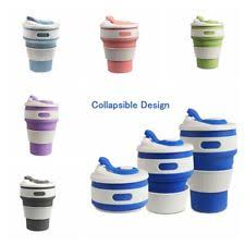 Collapsible Coffee Mug Stojo Collapsible Reusable Silicone Pocket Coffee Cup 12 Oz Green