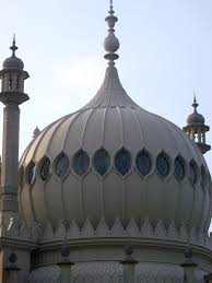 free stock photo of exterior of the onion dome at brighton