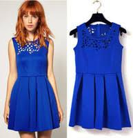 cheap blue cut out dress find blue cut out dress deals on line at