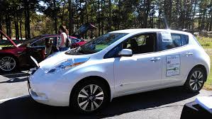 nissan leaf solar panel maine clean communities lends out ev to municipalities gpcog