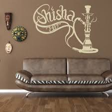 shisha bar vinyl sticker wall decor by style and apply office shisha bar vinyl sticker wall decor by style and apply