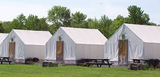 tent rentals maine side by side rentals maine platform tent cing and side by