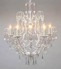 Light Crystal Chandelier Vintage Crystal Chandelier Visualizeus