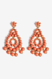 chandelier earring beaded chandelier earring by at le tote