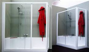 chiusura vasca da bagno bagno designs mezza vasca con box doccia trasformazione da a