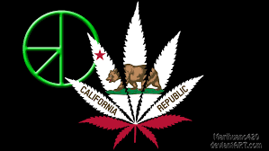 Califirnia Flag California Flag With 420 Symbol By Marihuano420 On Deviantart