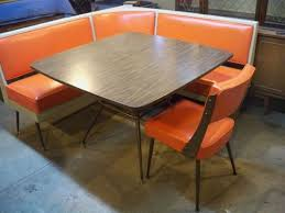 mid century modern dining table set mid century dining booth in kitchen google search mid century