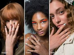 spring summer 2017 nail trends nail trends metallic nails and