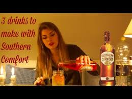 Mix Southern Comfort With 3 Easy Drinks Using Just Southern Comfort L Sonja U0027s Bar Youtube