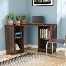 Corner Computer Tower Desk Corner Desks You Ll Wayfair