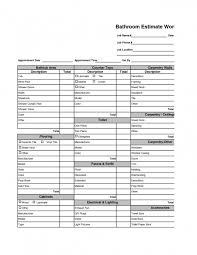 Repair Excel Spreadsheet Home Repair Estimate Template Naerbet Spreadsheet