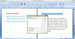 create table of contents in word how to create a clickable custom table of contents in microsoft word