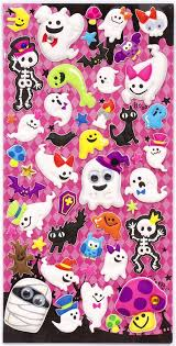 Halloween Stickers Halloween Ghosts And Skeleton Sponge Stickers From Japan Sticker