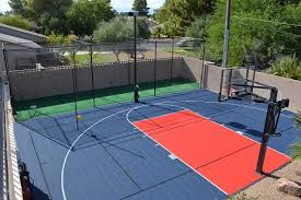 Backyard Sport Courts Give Your Family The Ultimate Holiday Gift A Backyard Court Or