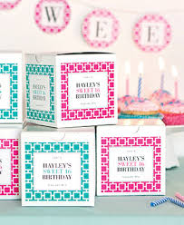 party favor labels personalized kid party ideas evermine