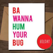 Naughty Christmas Memes - funny naughty christmas card for from diamonddonatello on etsy