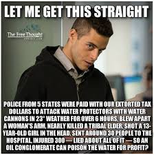 I Feel Violated Meme - short form post police state treason continues against the water