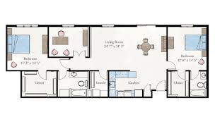 2 bedroom floor plans two bedroom apartment floor plan larksfield place