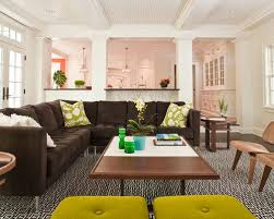 living room partition houzz
