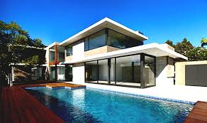 pool houses plans outstanding modern house plans with pool gallery best