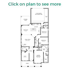 Single Family Home Floor Plans by Camelia Plan Chesmar Homes Houston