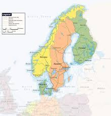 map of europe scandinavia large detailed railways map of scandinavia baltic and
