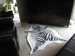 Zebra Area Rug 8x10 Rugs Unique Interior Rugs Design With Exciting Zebra Skin Rug
