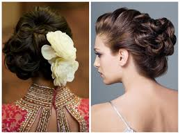 hairstyles ideas for medium length hair bridal hairstyle updo long hair indian wedding hairstyle ideas for