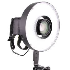 ring light for video camera led ring light video photography shoot through daylight with amber
