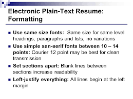 What Size Font For Resume Resumes Creating Resumes That Stand Out From The Masses Ppt Download