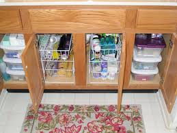Kitchen Cabinet Spice Rack Slide by Best Under Kitchen Sink Pull Out Storage Photos Home Design