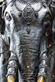 elephant statue near temple thailand stock photo picture and