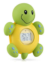 bathtub thermometer floating amazon com nuby bath time clock and thermometer styles may vary