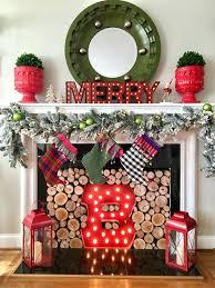 christmas stocking hangers for fireplace uk display medium holder