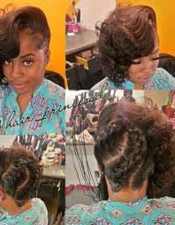 the half braided hairstyles in africa braided updo for african american women hollywood official