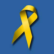 blue and yellow ribbon ribbon clipart
