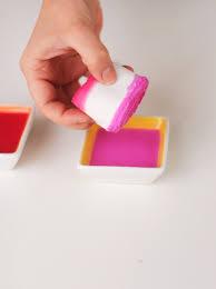 dyed ribbon diy dip dye ribbons dip dyed dips and craft
