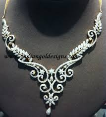 beautiful necklace designs images Gold and diamond jewellery designs beautiful designer diamond JPG