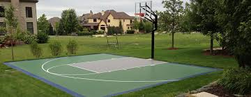 Backyard Basketball Court Outdoor Basketball Court Builder U2014 Power Court
