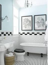 black white bathroom tiles ideas lovable black and white bathroom tile ideas 1000 images about