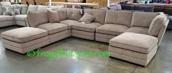 Modular Sofa Pieces by Bainbridge 7 Pc Modular Fabric Sectional Costco Frugalhotspot