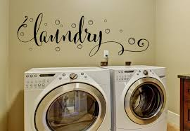 laundry room decor laundry wall decal with bubbles wall decals