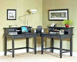 Two Person Reception Desk 2 Person Desk Two Person Home Office 2 Person Desk For Home Office